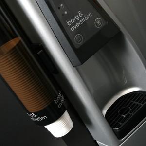 A classic water cooler dispenser